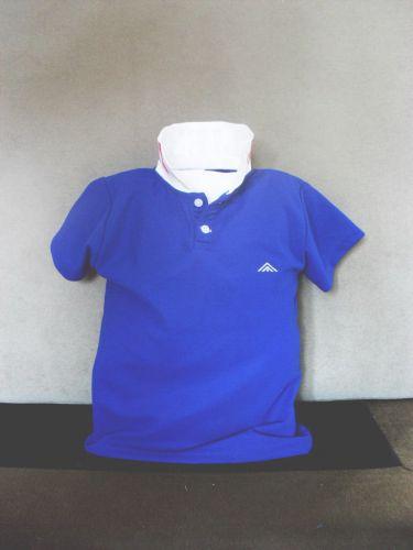 เสื้อโปโลเด็ก สีน้ำเงิน